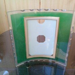 Фоторамки - Фоторамка вогнутая стеклянная, 0