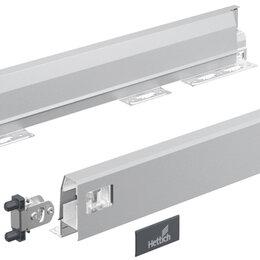 Комплектующие - Hettich: 9234469: Комплект боковин ящика ARCITECH, H78, NL500, серебристый, 0