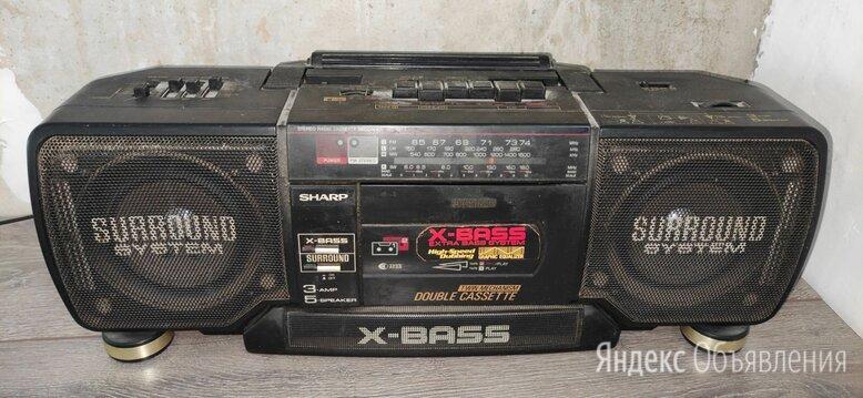 Двухкассетный магнитофон Sharp WQ T352HT (BK) по цене 1000₽ - Музыкальные центры,  магнитофоны, магнитолы, фото 0