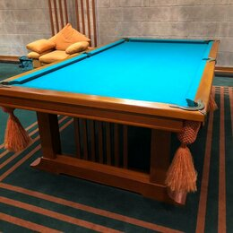 Столы - Бильярдный стол 9 футов Италия , 0