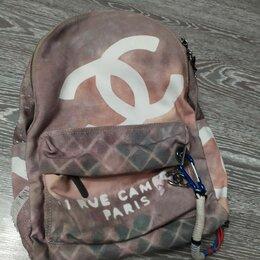 Рюкзаки, ранцы, сумки - Портфель/рюкзак chanel оригинал, 0