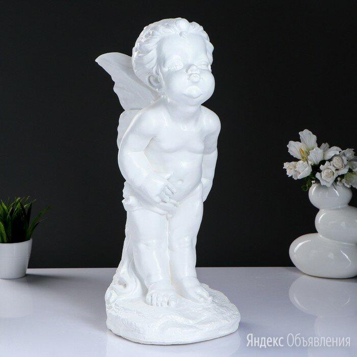 """Фигура """"Эльфина"""" большая белая 23х27х51см по цене 1384₽ - Цветы, букеты, композиции, фото 0"""