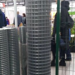 Металлопрокат - Сетка сварная оцинкованная 1,6*50*50мм 1,5*45 м для забора, 0