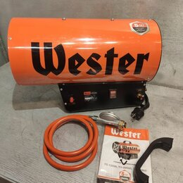 Тепловые пушки - Газовая тепловая пушка wester tg-35000, 0