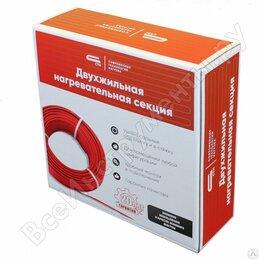 Электрический теплый пол и терморегуляторы - Двухжильная нагревательная секция 500 Вт длинна 28 метра на 2,5-3 кв. м, 0