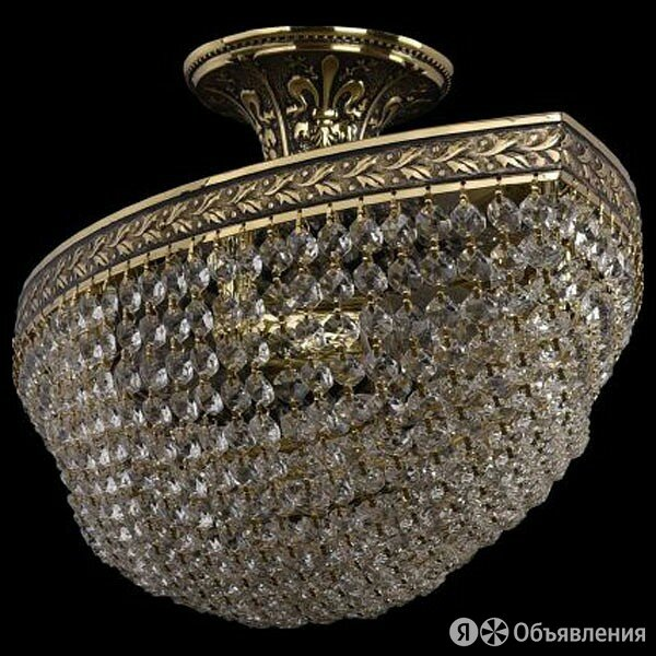 Светильник на штанге Bohemia Ivele Crystal 1932 19323/55IV GB по цене 54083₽ - Бра и настенные светильники, фото 0