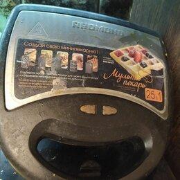 Сэндвичницы и приборы для выпечки - Мультипекарь редмонд rmb, 0