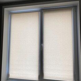 Римские и рулонные шторы - Рулонные шторы 2 штуки, 0