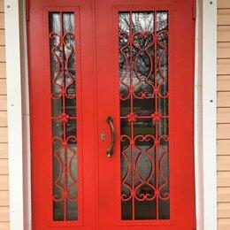 Входные двери - Двухстворчатые входные двери для частного дома , 0