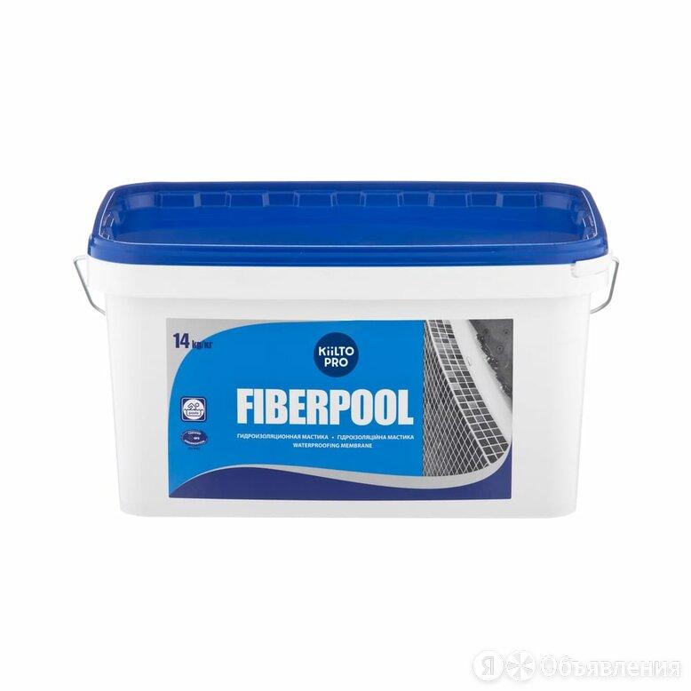 Гидроизоляционная мастика KIILTO KLEI Fiberpool по цене 9950₽ - Изоляционные материалы, фото 0