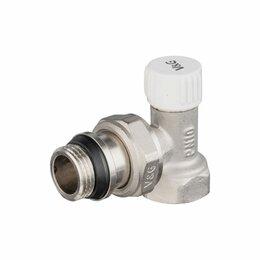 Электромагнитные клапаны - Настроечный угловой радиаторный клапан VALOGIN VG-602201, 0