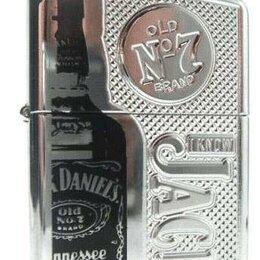 Пепельницы и зажигалки - Зажигалка Zippo 24175 Jack Daniels Armor Limited, 0