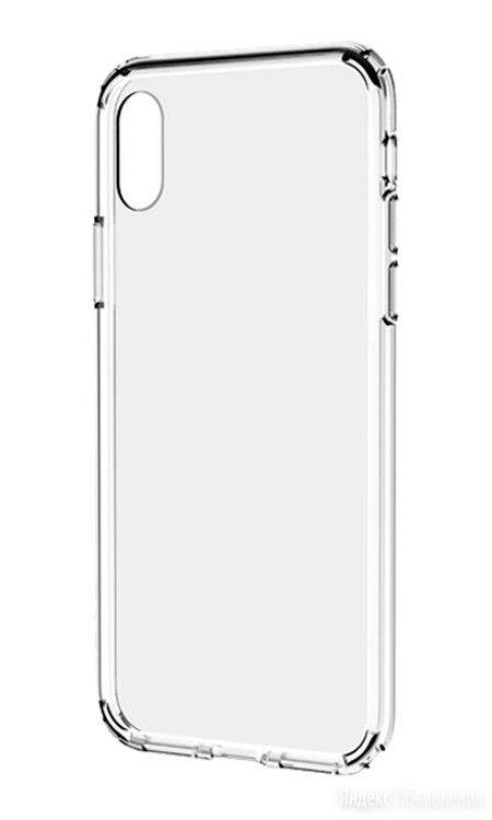 Чехол для iPhone X накладка силиконовая прозрачная по цене 192₽ - Чехлы, фото 0
