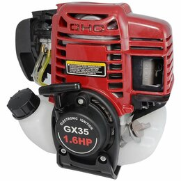 Запчасти  - Двигатель GX35 аналог Honda GX35 (Хонда GX 35), 0