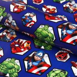 Упаковочные материалы - Упаковочная бумага Мстители, 0