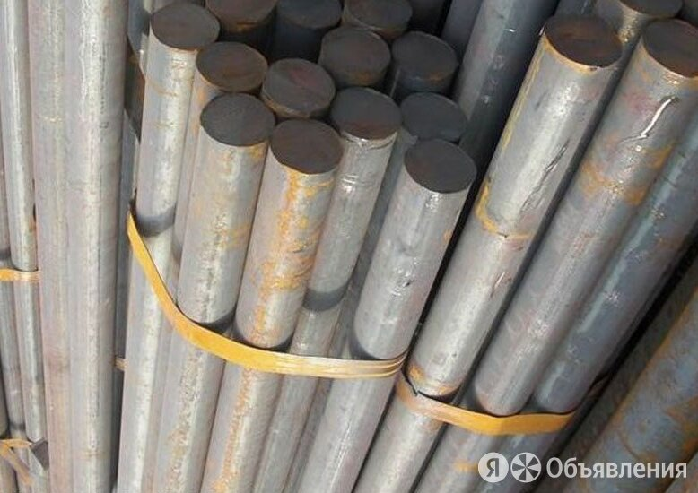 Круг стальной 220 мм ст. 7Х3 по цене 41000₽ - Металлопрокат, фото 0