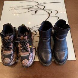 Сапоги, полусапоги - Сапоги+кроссы р.36, 0