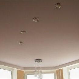 Потолки и комплектующие - Матовые натяжные потолки с установкой и профилем premium MSD, 0