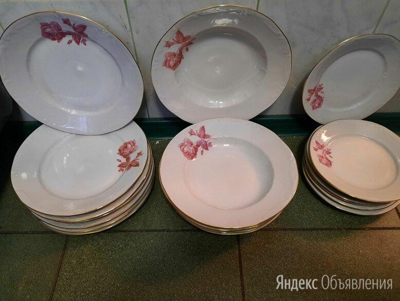Фарфоровые тарелки: для первого, для второго и десертные по цене 90₽ - Тарелки, фото 0