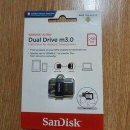 USB Flash drive - SanDisk Ultra Dual SDDD3-256G-G46, 0
