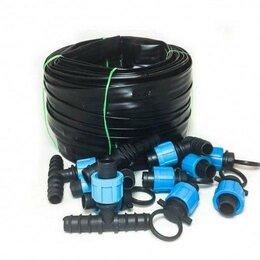 Капельный полив - Система капельного автоматического полива - Автополив-50, 50 метра на 100 м г..., 0