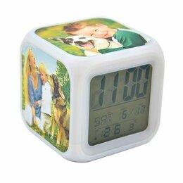 Часы настольные и каминные - ЧАСЫ-БУДИЛЬНИК МЕНЯЮЩИЕ ЦВЕТ, 0