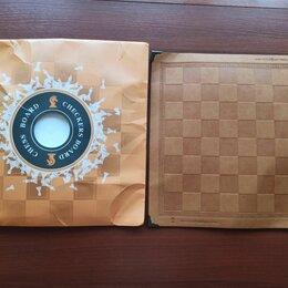 Настольные игры - Шахматная доска из кожи, 0