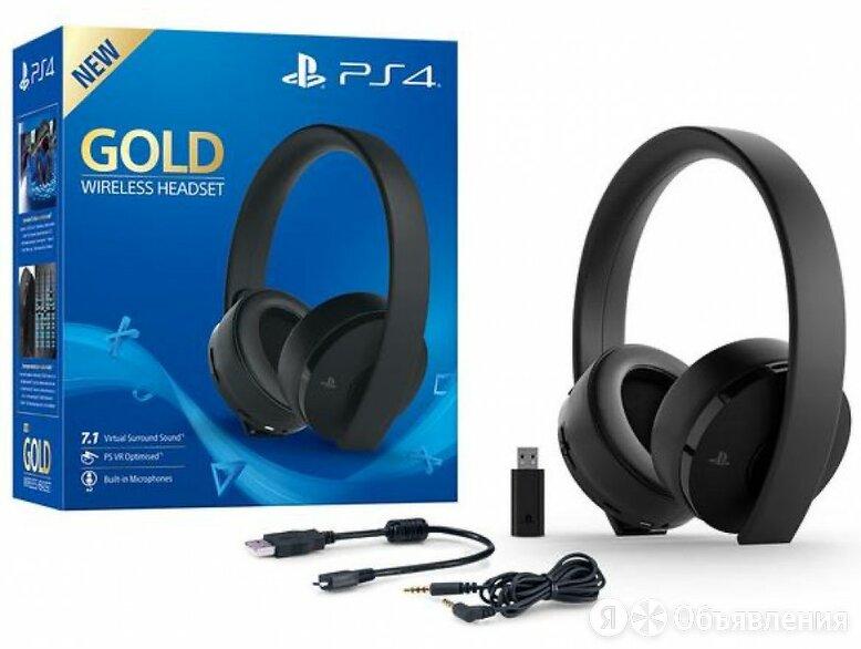 Наушники гарнитура Playstation 4 Gold б/у по цене 3990₽ - Аксессуары, фото 0
