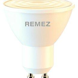 Лампочки - Лампа светодиодная Remez  GU10 7Вт 3000K RZ-119-PAR16-GU10-7W-3K, 0