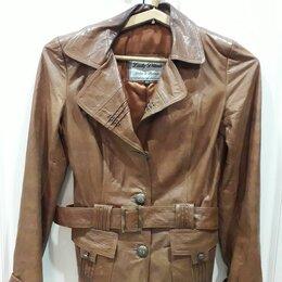 Куртки - Куртка женская кожаная натуральная , 0
