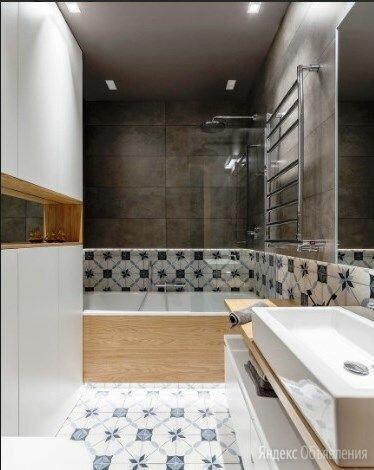 Укладка плитки и керамогранита в ванной. по цене 610₽ - Керамическая плитка, фото 0