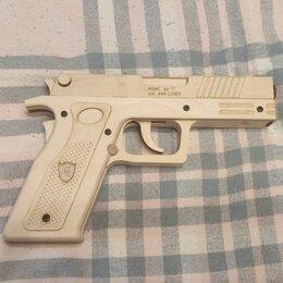 Сборные модели - Деревянный макет пистолета guard, 0
