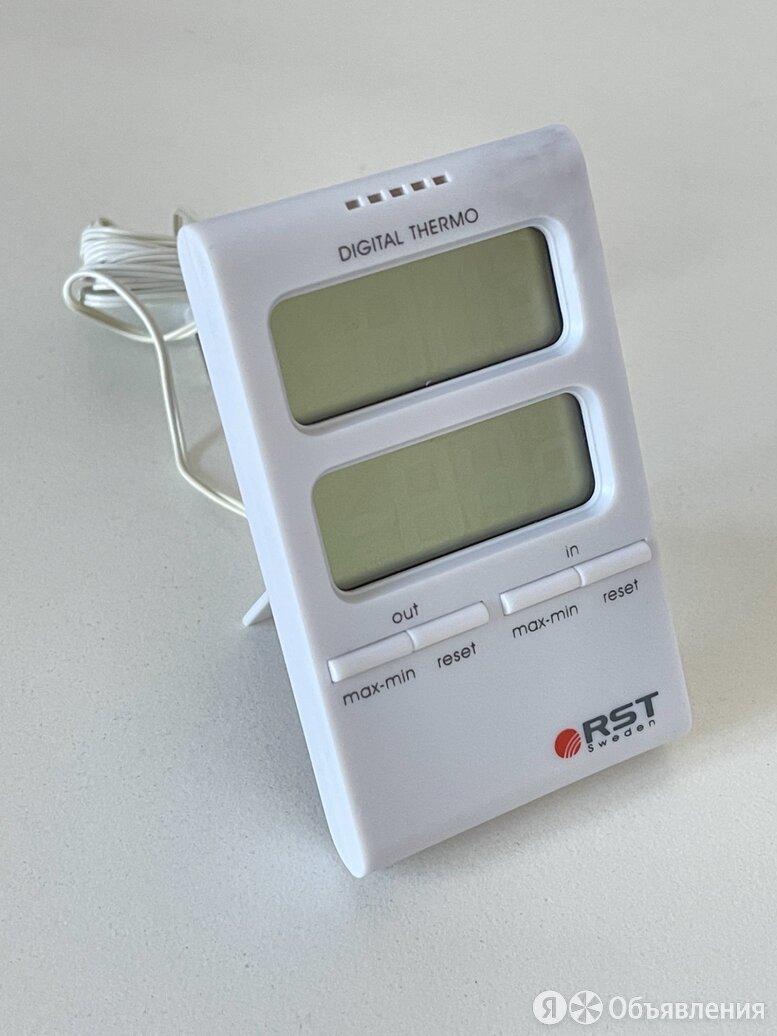Цифровой термометр с выносным датчиком RST02100 по цене 1500₽ - Метеостанции, термометры, барометры, фото 0