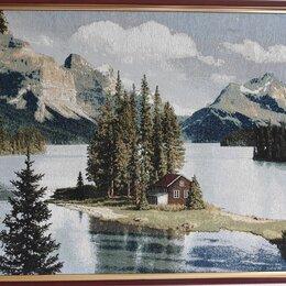 Картины, постеры, гобелены, панно - Гобеленовая картина северный уголок, 0