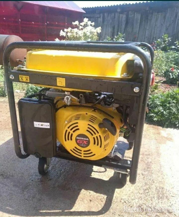 генератор бензиновый 6.5 квт по цене 10000₽ - Электрогенераторы и станции, фото 0