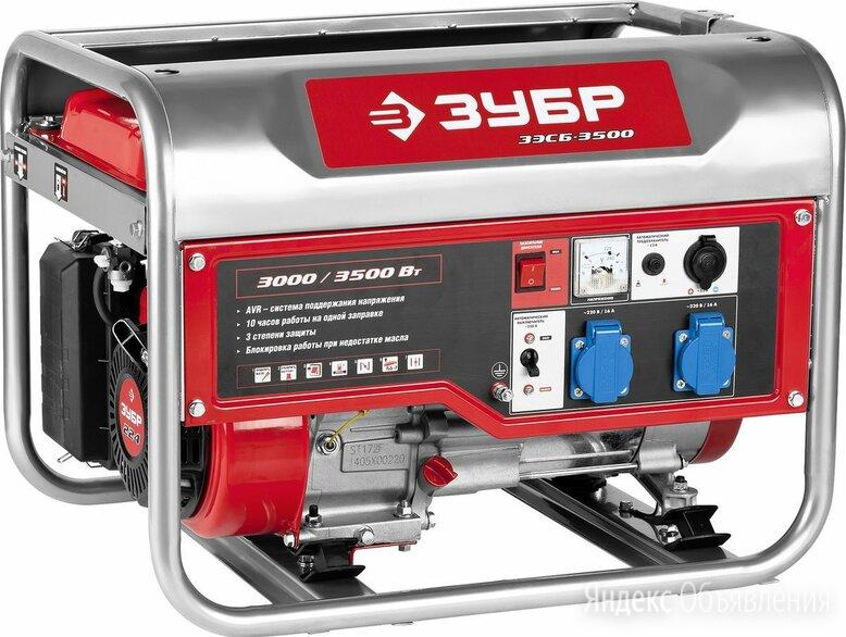 Генератор бензиновый ЗЭСБ-3500 по цене 27000₽ - Электрогенераторы, фото 0