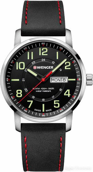 Наручные часы Wenger 01.1541.101 по цене 18350₽ - Наручные часы, фото 0