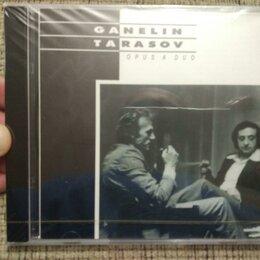 Музыкальные CD и аудиокассеты - Ganelin, Tarasov – Opus A Duo (CD), 0