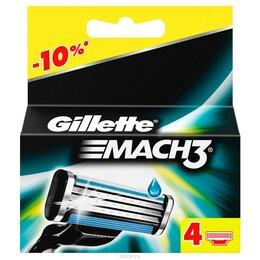 Бритвы и лезвия - Кассеты для бритья gillette mach3, 0