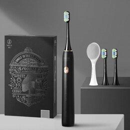 Электрические зубные щетки - Зубная электрическая щетка Xiaomi Soocas X3U Gift Edition черная, 0