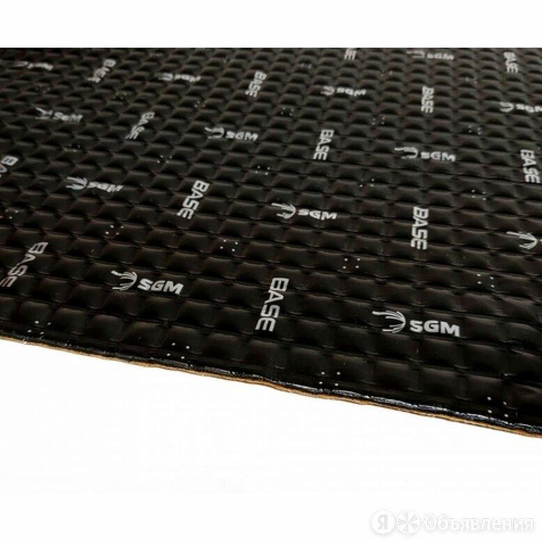 Вибродемпфирующий материал SGM Base 1 по цене 1930₽ - Изоляционные материалы, фото 0