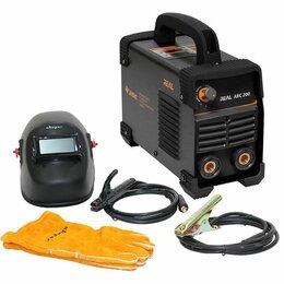Сварочные аппараты - Cварог ARC 200 Real (Z238N) Black (Маска+Краги), 0
