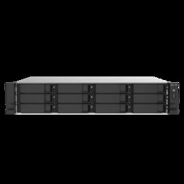 Сетевые накопители - Сетевое хранилище QNAP TS-1273AU-RP-8G, 0