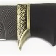 Ножи и мультитулы - Нож туристический Егерь, дамасская сталь, черное дерево, 0