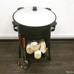 Казаны, тажины - Казан на восемь литров и печка на восемь литров, 0