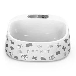 Миски, кормушки и поилки - PETKIT Миска-весы для животных Xiaomi Petkit Smart Weighing Bowl White Milk Cow, 0