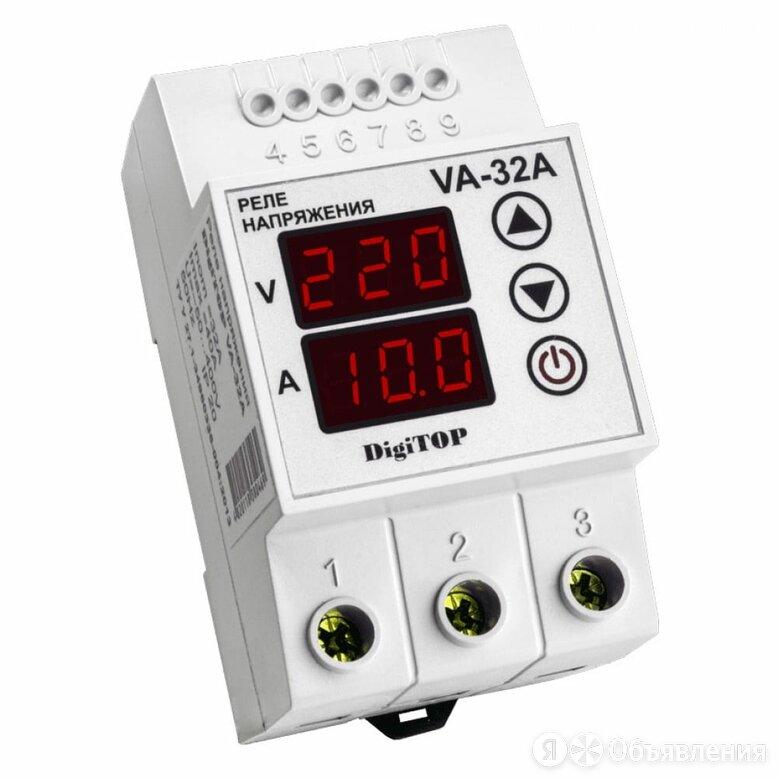Реле напряжения напряжения DigiTOP VA-32А по цене 1719₽ - Измерительные инструменты и приборы, фото 0