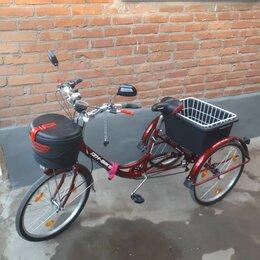 Велосипеды - Трёхколёсный грузовой велосипед , 0
