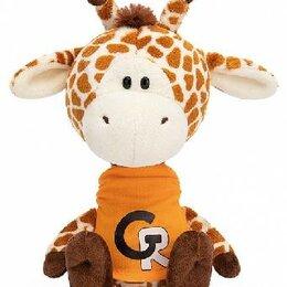 Сфера услуг - Жирафик Жан в оранжевой футболке, 0