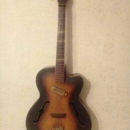 Акустические и классические гитары - Гитара  6 струнная. Винтаж   Чехословакия , 0